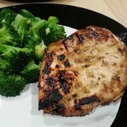 Grilled Honey-Lemon Chicken Recipe