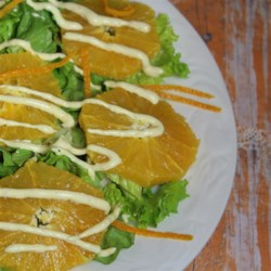 Orange Salad with Cinnamon Dressing Recipe