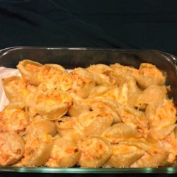 Buffalo Chicken Stuffed Shells Recipe