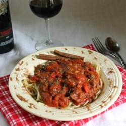 Field Grade Spaghetti Sauce Recipe