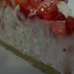White Chocolate Strawberry Mousse Pie Recipe