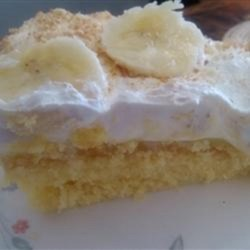 banana pudding cake recipe easy easy banana pudding cake recipe allrecipes 1484