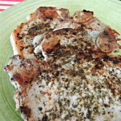 Herbed Pork Chops with Homemade Rub Recipe