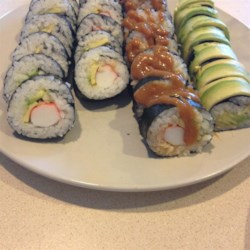 California Roll Sushi Recipe