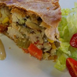 Turkey Pot Pie With Mayonnaise