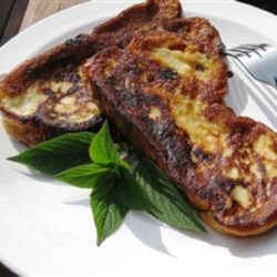 Pineapple Sage-Scented Challah French Toast Recipe