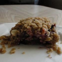 Saskatoon Berry Cream Cheese Crumb Cake Recipe
