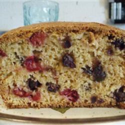 Saskatoon Cranberry Loaf Recipe