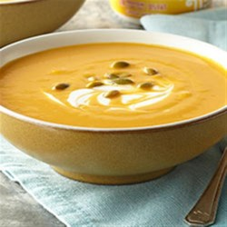Hearty Pumpkin-White Bean Soup Recipe