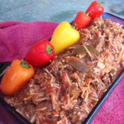 Spicy American Spanish Rice Recipe