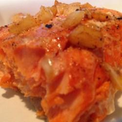 BBQ Salmon in Butter Sauce Recipe