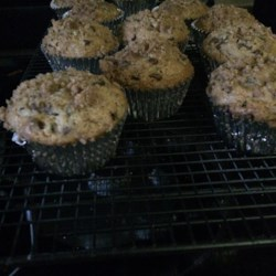Zucchini-Chocolate Chip Muffins Recipe