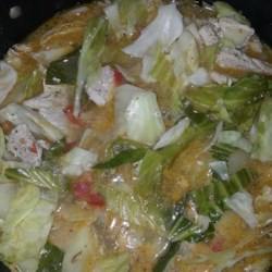 Pork and Cabbage Soup Recipe