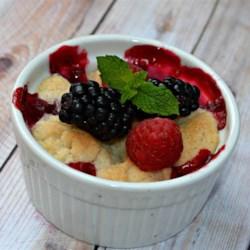 Raspberry and Blueberry Cobbler Recipe