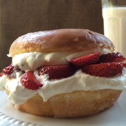 Glazed Doughnut Strawberry Shortcake Recipe