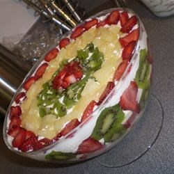 Summer Fruit Trifle Recipe
