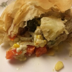 Vegetable Filo Pie Recipe