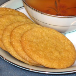Lemon Sugar Tea Cookies Recipe