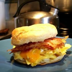 Photo of Biscuit Breakfast Sandwiches by Giovanna  Garver