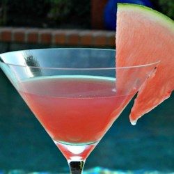 Easy Watermelon Martini Recipe