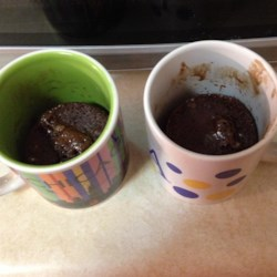 Minute Chocolate Mug Cake  Recipe
