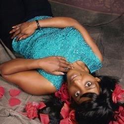 Maria with petals