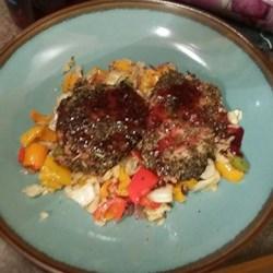 Pork Chops with Raspberry Sauce photo by Heather Brackney ...