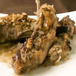 Lamb Ribs with Honey and Wine Recipe