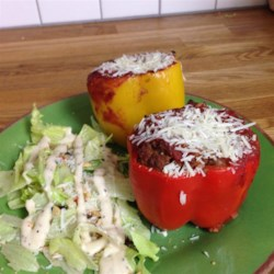 Healthier Stuffed Peppers Recipe