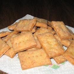 Cheddar crackers - gluten-free version