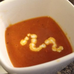 Tomato Coconut Soup Recipe
