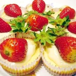 Strawberry Cream Cheese Cupcakes!
