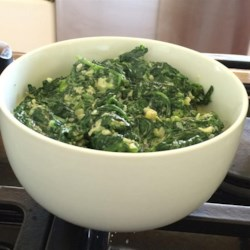Fast and Easy Creamed Spinach Recipe
