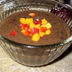 Calypso Black Bean Soup Recipe