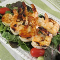 Sweet and Spicy Grilled Shrimp