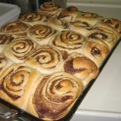 Cinnamon Rolls before icing