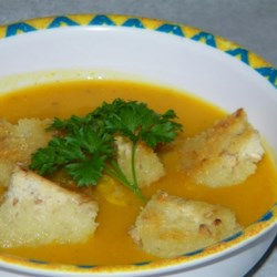 Party Hit Creamy Pumpkin Soup Recipe