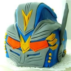 Optimus Prime Bday Cake