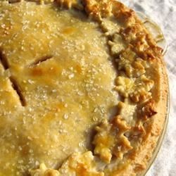 French Pastry Pie Crust Recipe