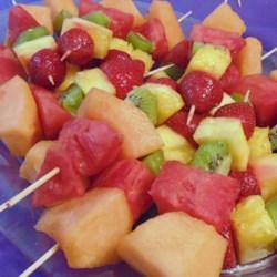 fruity fun skewers recipe photos