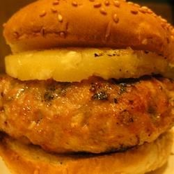 Pork Apple Burgers Recipe