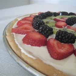Delicious Fruit Pizza