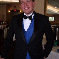 At my wedding
