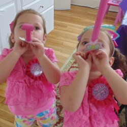 Happy 3rd Birthday Abby and Ally!