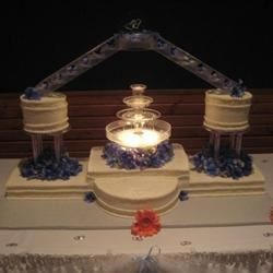 Our beautiful wedding cake