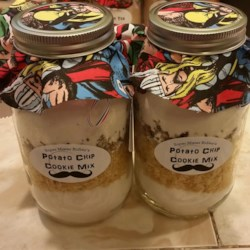 Potato Chip Cookie Mix in a Jar Recipe
