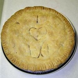 Aunt Bev's delicious apple pie!!