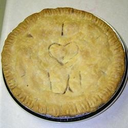 Aunt Bev's delicious apple pie!!
