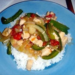 Chicken Pepper Steak Recipe