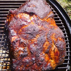 Bob's Pulled Pork on a Smoker